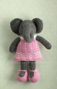 Good site for knitted toy patterns