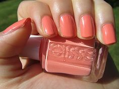 one of my favorite spring polishes, Essie Tart Deco