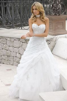 Bridals is a unique wedding dress collection that captures the personality Pretty Wedding Dresses, Gorgeous Wedding Dress, Beautiful Gowns, Dress Wedding, Wedding Hair, Baby Wedding, Wedding Ideas, Wedding Ceremony, Bridal Robes