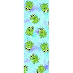 "Happy Frog Coral Fleece Fabric, Lilac, 31"" x 11"""