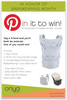 #babywearing #giveaway! #wearthemOnya