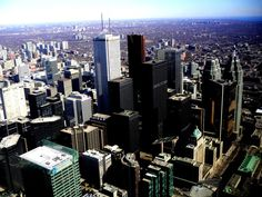 Toronto, ON- from the CN Tower