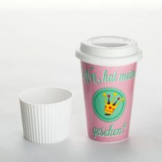 """Coffee-to-go-Becher """"Krone gesehen"""""""