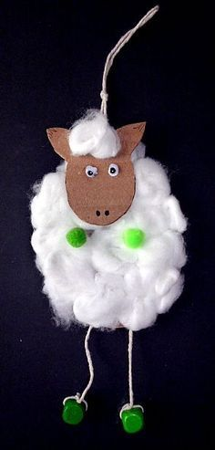 / tinker Easter lamb cotton-cardboard-pearl Source by Animal Crafts For Kids, Diy For Kids, Bunny Crafts, Easter Crafts, Paper Plate Crab, Diy And Crafts, Arts And Crafts, Craft Projects, Projects To Try