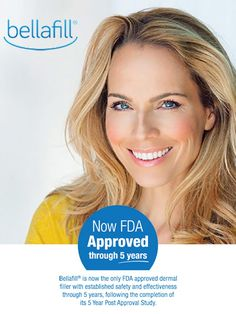 Bellafill® - The collagen in Bellafill provides immediate volume and lift to nasolabial folds.