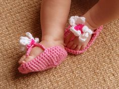 BOTTOM OF BABY FLIP FLOPS