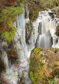 Royalston Falls, Massachusetts; photo by John Burk