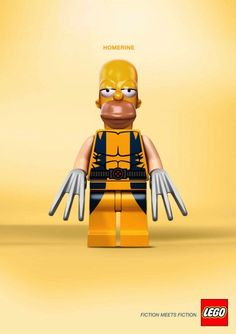 Homerine - by LEGO