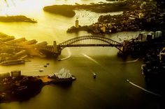 Sydney harbour from airplane Airplane, Opera House, Sydney, Sunrise, Photos, Photography, Plane, Pictures, Photograph