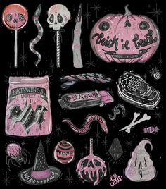 Find images and videos about Halloween and witch on We Heart It - the app to get lost in what you love. Wicca, Dibujos Dark, Trick R Treat, Witch Aesthetic, Arte Horror, Creepy Cute, Spooky Scary, Halloween Art, Halloween Drawings