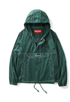 c52f18836551 Supreme Pocket Stitch Windbreaker Jacket (Green)