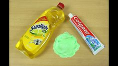 How to make slime with only 2 ingredients. No liquid starch, Glue, liquid detergent … - Slime Borax Slime, Slime No Glue, Slime Craft, Diy Slime, Toothpaste Slime, Colgate Toothpaste, Slime Transparent, Flour Slime, Corn Starch Slime