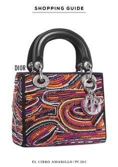 Bolso - Dior  - El Libro Amarillo P/V 13 - El Palacio de Hierro