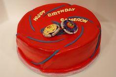 Beyblade Birthday Cake | Keen Cake Impression: Beyblades Super Vortex Stadium