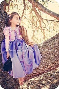 Disney Tangled inspired children's photography session