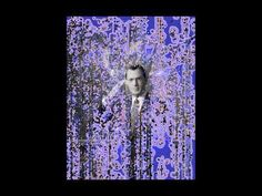 Particle Colbert 1a (animated Generative Art portrait of Stephen Colbert...
