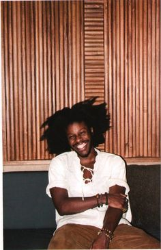 Jesse Boykins III. Love this bohemian style on him.
