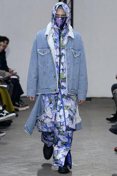 Facetasm Fall 2017 Menswear Collection Photos - Vogue