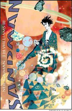 Neil Gaiman's writing a prequel to Sandman in 2013, and I'm very excited about that.