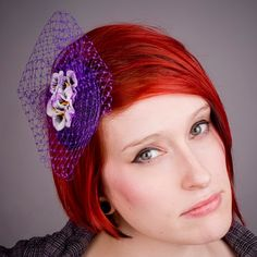 January Sales 25 off PurpleWhite Velvet by ImogensImagination, £27.50