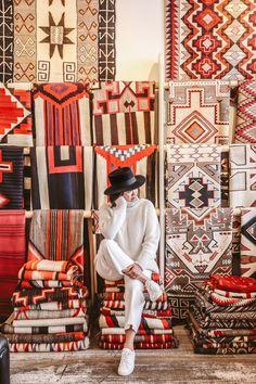 A guide to santa fe bon voyage in 2019 Sante Fe New Mexico, Roswell New Mexico, New Mexico Road Trip, Mexico Travel, New Mexico Style, Mexico Fashion, Santa Fe Nm, Santa Fe Style, Native American Art