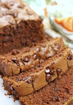 How To Make Tortilla Chips Double Chocolate Pumpkin Brea. Take Your Pumpkin Bread To The Next Level Of Chocolatey Goodness With This Double Chocolate Pumpkin Bread Its Fall Dessert Perfection Fall Desserts, Sweet Desserts, Delicious Desserts, Dessert Recipes, Breakfast Recipes, Party Desserts, Recipes Dinner, Pasta Recipes, Crockpot Recipes