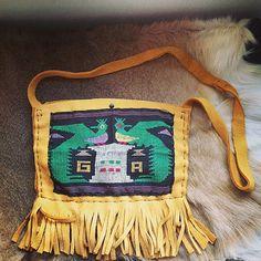 Handmade gypsy  tribal Guatemalan leather by thegypsiescaravan, $99.00