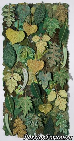 "herminehesse: "" Leaf Flakes by Sharon Nemirov (Yes, these are fabric leaves) . herminehesse: "" Leaf Flakes by Sharon Nemirov (Yes, these are fabric leaves) . herminehesse: "" Leaf Flakes by Sharon Nemirov (Yes, these are fabric leaves) "" Fabric Art, Fabric Crafts, Fabric Wall Hangings, Hanging Fabric, Leaf Crafts, Landscape Quilts, Leaf Art, Wool Applique, Wet Felting"