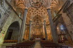 Catedral de Barbastro, nave / foto: Ramón Salanova Aznar