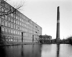Mons Mill, with chimney and dam, by mrrobertwade (wadey), via Flickr
