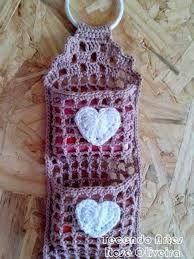 Resultado de imagem para porta sabonete em crochê
