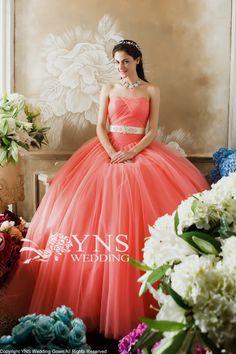 カラードレス オレンジドレス SC14905-CRDの詳細画像