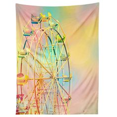 Shannon Clark Ferris Wheel Fun Tapestry | DENY Designs Home Accessories