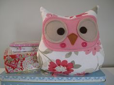 Owl plush toy Flora by pinchface on Etsy, $24.00