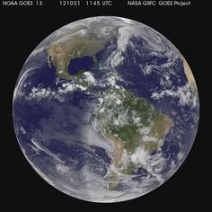A Global View of Hurricane Sandy's Life [hd video], via Flickr.