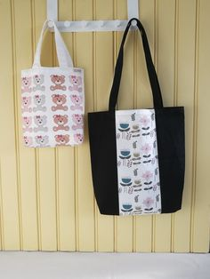 Reusable Tote Bags, Fabric Purses, Bags