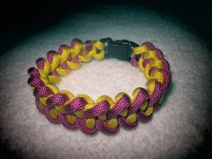 TwoColor Jawbone Paracord Bracelet by KWJewelryCreations on Etsy, $6.50