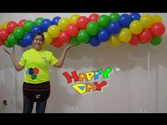 arco de balões espiral com 4 cores tema vingadores (guirlanda de balões 4 cores) - YouTube Avengers Party Decorations, Balloon Decorations Party, Party Centerpieces, Birthday Decorations, Paw Patrol Birthday Cake, Paw Patrol Party, Mini Balloons, Large Balloons, Balloon Columns