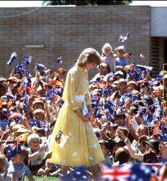 Princess Diana, Royal Tour of Australia and New Zealand 1983..