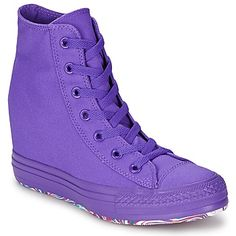 Korkeavartiset tennarit Converse ALL STAR PLATFORM PLUS COLOR violet 69.59 €
