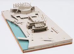 Palace of the Soviets, Moscow, 1931-1932. Model, 1932. Wood, paint, metal, plastic and glass. The Museum of Modern Art, New York.