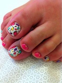 Más de 40 fotos de uñas decoradas para Pies – Foot nails | Decoración de Uñas - Manicura y Nail Art