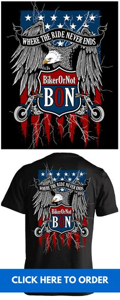 f82dce413 BikerOrNot T-shirts - The best way to find other BON members at motorcycle  events
