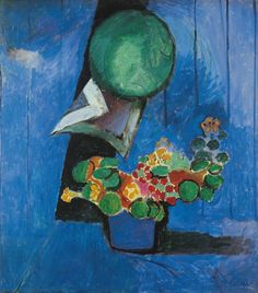 Henri Matisse - Flowers and Ceramic Plate 1913