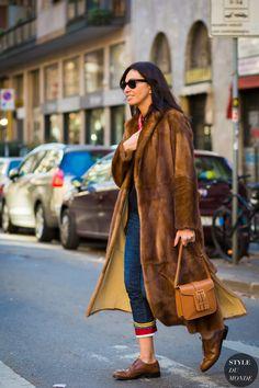 Milan Men's Fashion Week FW 2016 Street Style: Viviana Volpicella - STYLE DU MONDE   Street Style Street Fashion Photos