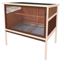 This simple and functional Advantek 'Urban Coop' poultry hutch is perfect for new pet chicken owners. The coop is easy to relocate and features a large front hinged door for easy access and cleanups....