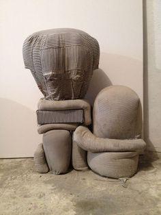 Always Be An Emerging Artist: The One That Got Away: Christopher Astley Textile Sculpture, Soft Sculpture, What Is Contemporary Art, Textiles Techniques, Textile Artists, Art Object, Community Art, Installation Art, Fiber Art