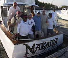 Makaira after a great day of billfishing! Sailfish, Marlin, Mahi mahi, Guatemala
