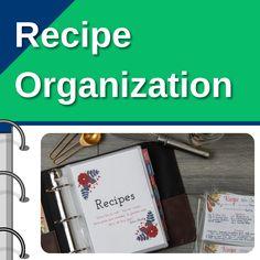Recipe Binders, DIY Recipe Books, Recipe Collecting and Organizing your Recipe Cards Diy Recipe, Recipe For 4, Recipe Binders, Recipe Organization, Recipe Books, Recipe Cards, Free Printables, Organizing, Blog