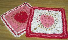 Crochet Dishcloth/Washcloth 100 Cotton Multi Color by Kitkateden, $10.00